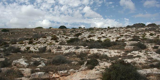 ruige landschappen malta