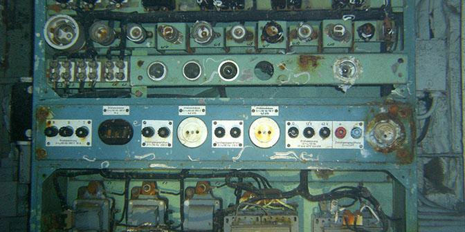 machinekamer wrak