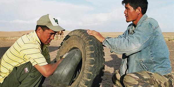 jeep gobi mongolie