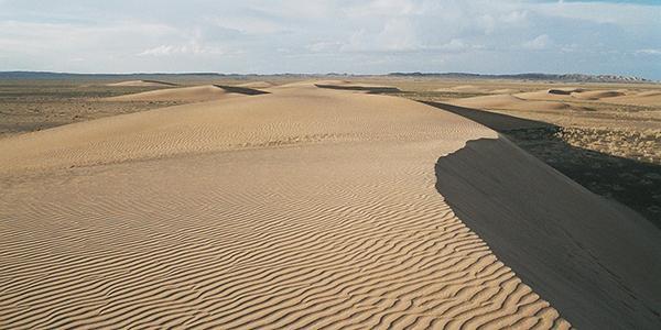 zandduinen gobi woestijn