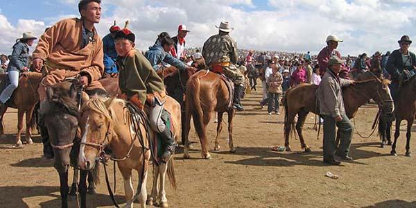 paardenraces sport mongolie