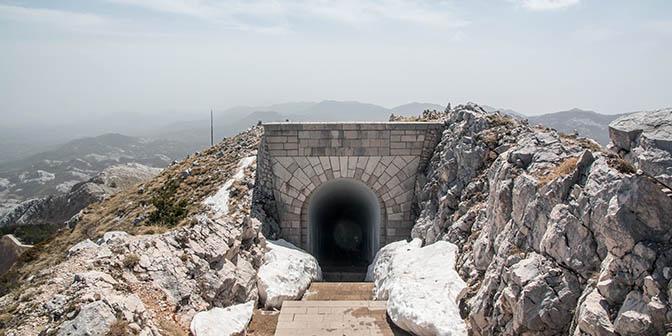 mausoleum montenegro
