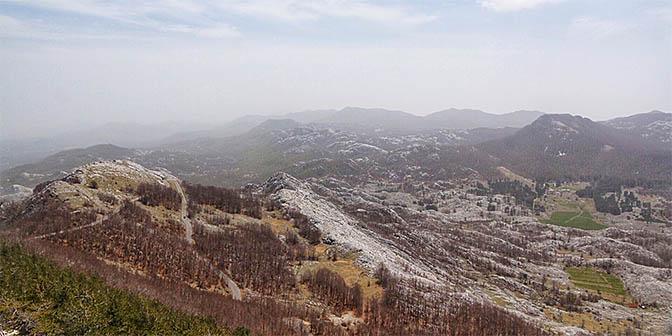 natuur montenegro lovcen