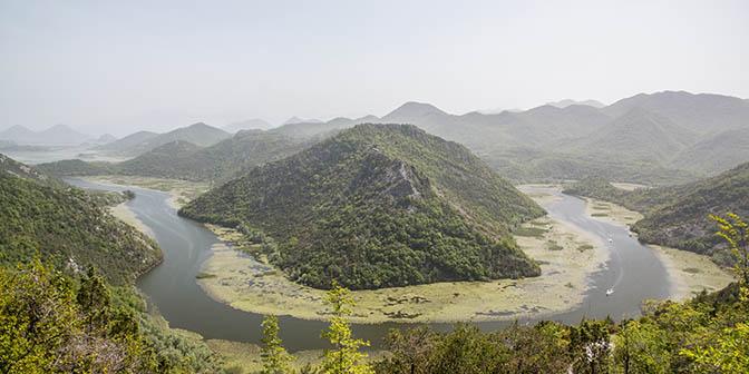 skadar natuur montenegro
