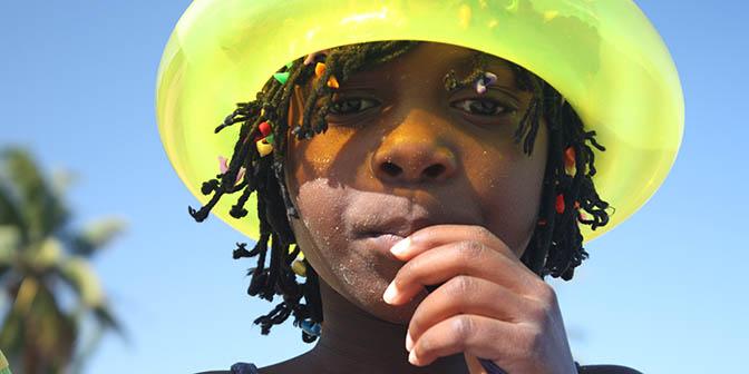 kinderen mozambique
