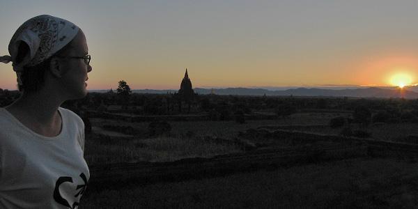 zonsondergang bagan myanmar