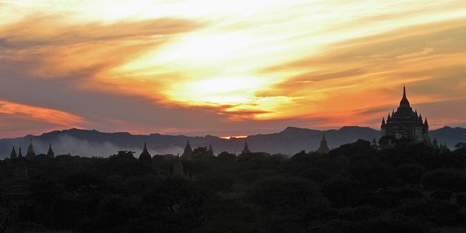 tempels bagan myanmar