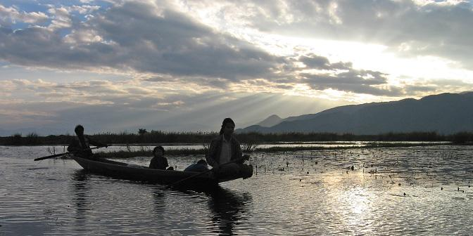route myanmar inle lake