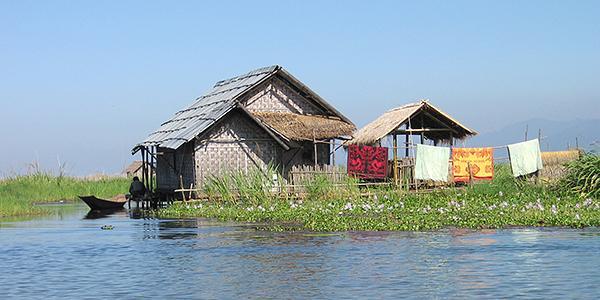 inle lake huis