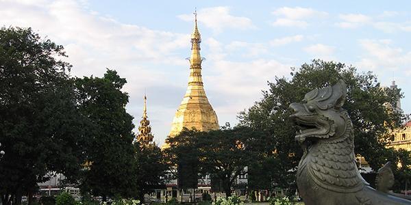 gouden pagode rangoon