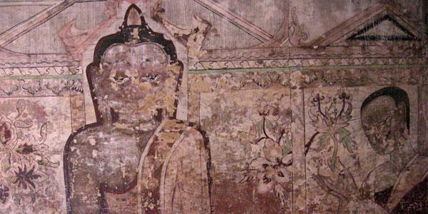 muurschildering bagan