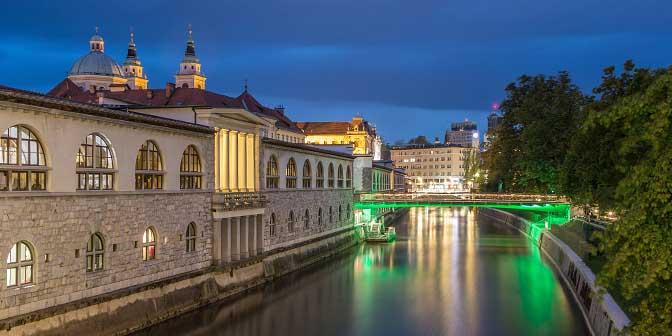 accommodatie stedentrip ljubljana