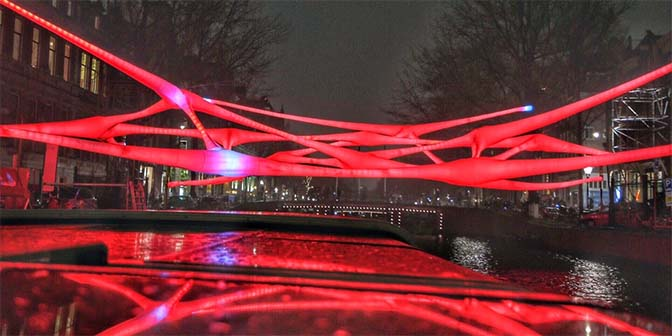 reflectie amsterdam light festival
