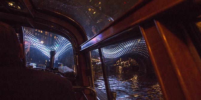 fotografie vanaf de boot