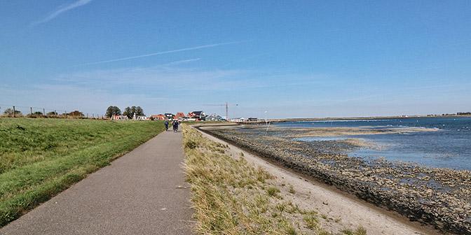 fietsen omgeving bruinisse nederland