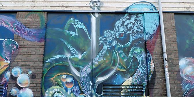 onderwater mural eindhoven