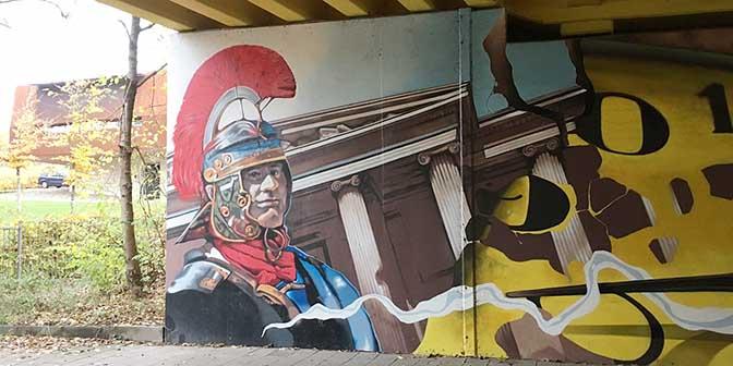 street art romeinen heerlen