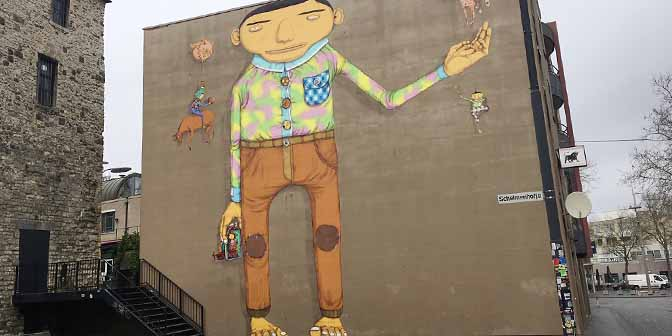 blue heerlen mural nederland