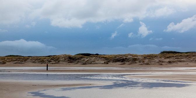 strand en duinen texel