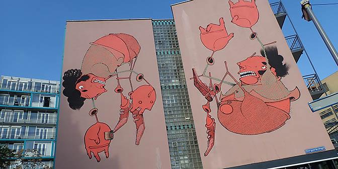 street art route nederland