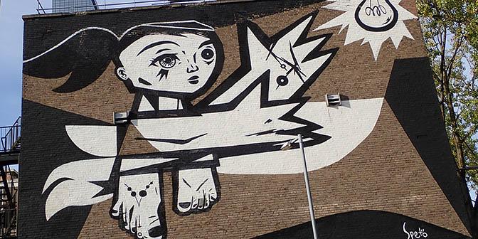 street art rotterdam nederland