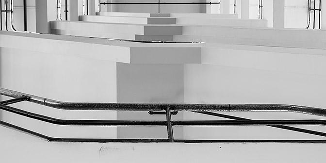 trappenhuis van nelle fabriek