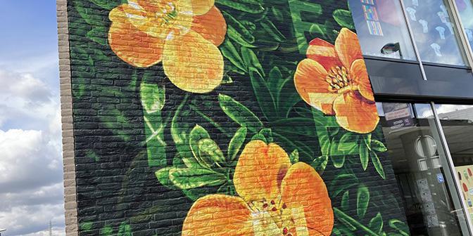 mural gaia heerlerheide