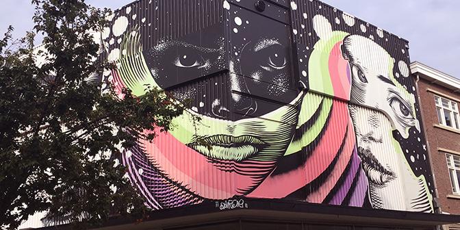 street art tour heerlen spoorsingel
