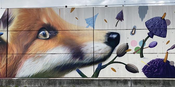 mijnspoorweg mural super a collin sluis