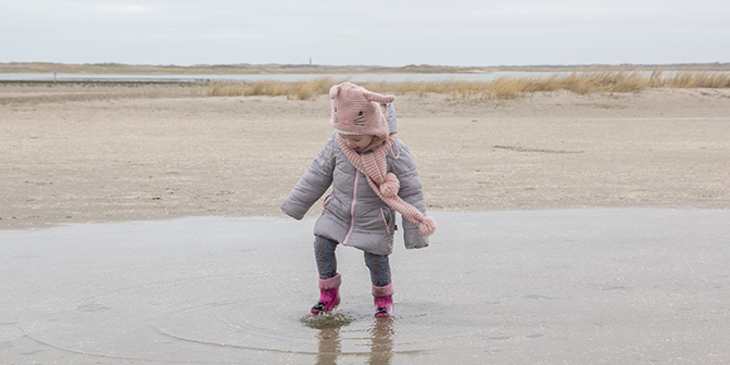 texel winter strand