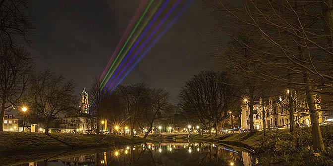 regenboog binnenstad dom