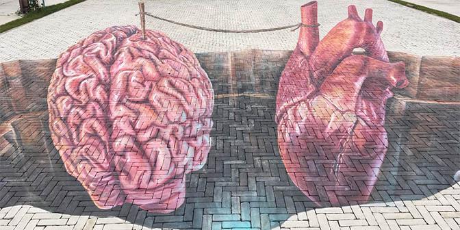 3D street art utrecht