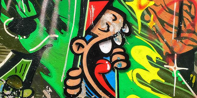 street art utrecht kabouter