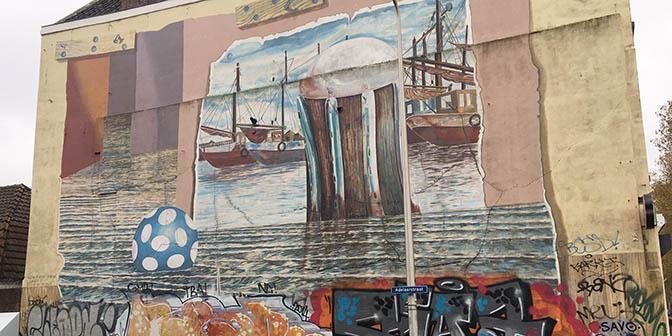 oudste muurschildering utrecht