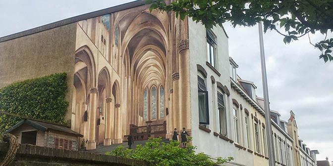 catharijne kerk mural utrecht
