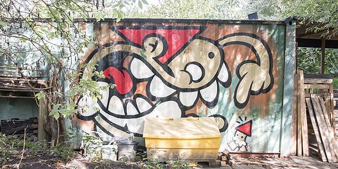 street art waterlinie utrecht