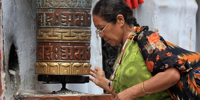 gebedsmolen nepal