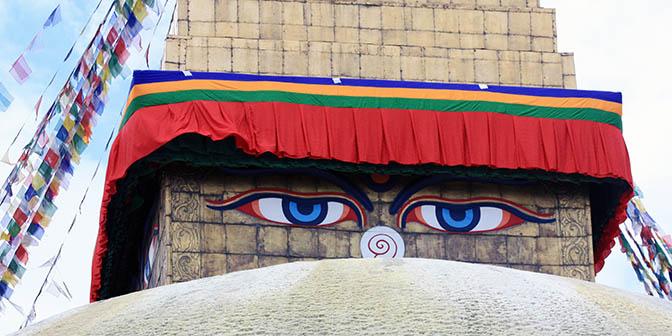 stupa ogen nepal