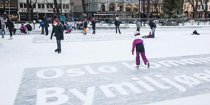 schaatsen oslo winter