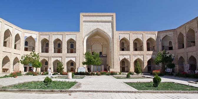 kukeldask gebedsschool oezbekistan