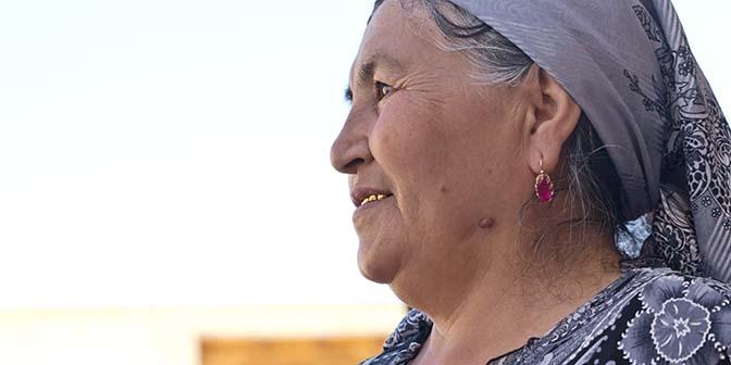 gouden tand oezbekistan