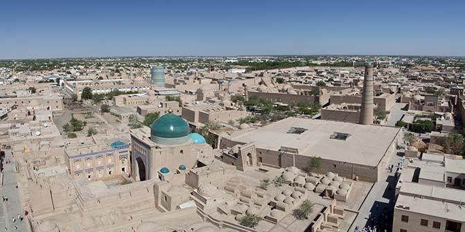 khiva zijderoute in oezbekistan