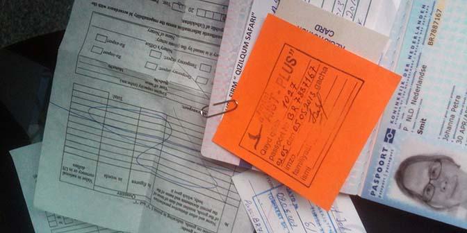 registreren paspoort oezbekistan