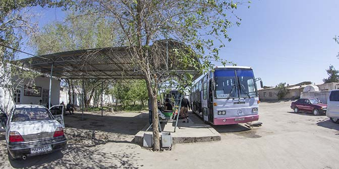 bus oezbekistan