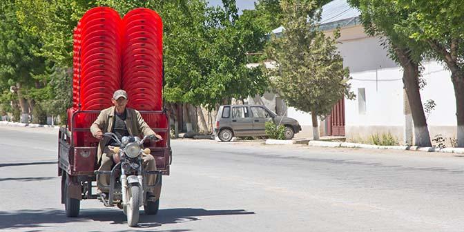 vervoer oezbekistan