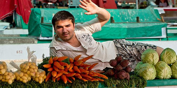 markt tashkent oezbekistan