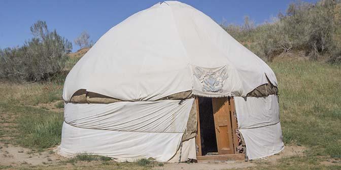 traditionele yurt oezbekistan