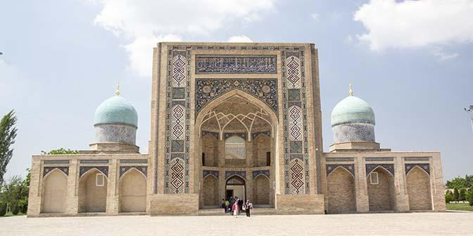 mausoleum tashkent oezbekistan