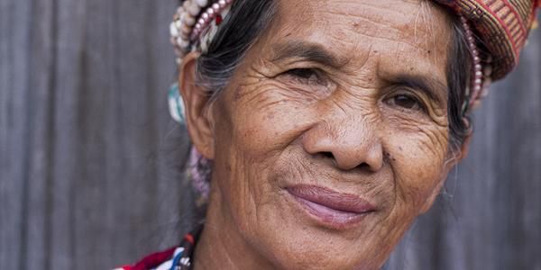 vrouw in Luzon