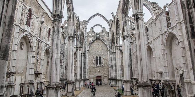 kerk zonder dak lissabon
